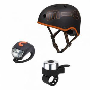 Micro - AC2077 - Kit de Sécurité Noir et Orange - Taille M (53 à 58 cm) (375546)