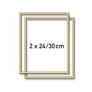 Schipper - 605200762 - Cadre en aluminium 24 x 30 cm gold (375592)