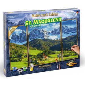 Schipper - 609260760 - Peinture aux numéros - Sainte Madeleine au Tyrol du Sud 50x80cm (375628)