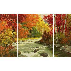 Schipper - 609260779 - Peinture aux numéros - Ruisseau en automne 50x80cm (375630)