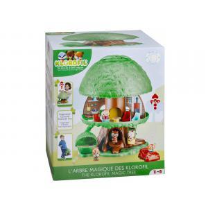 Vulli - 700200 - L'arbre magique des Klorofil (5 personnages + livre des Klorofil inclus) (375796)