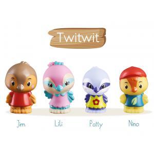Vulli - 700302 - Lot de 4 personnages famille  (375808)
