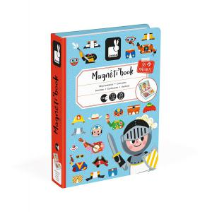 Janod - J02719 - Magneti'book deguisements garcon (375926)