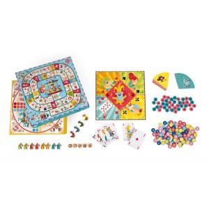 Janod - J02742 - Coffret multi jeux carrousel (375970)