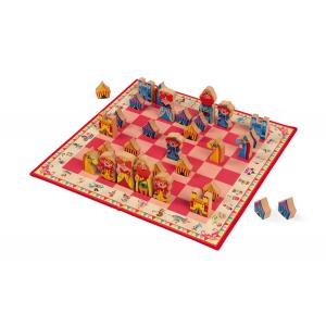 Janod - J02745 - Jeu d'échecs carrousel (375976)