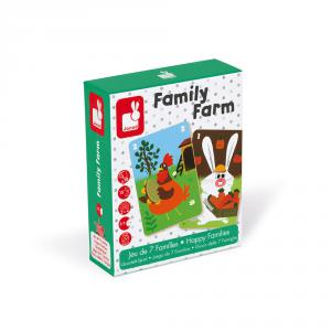 Janod - J02756 - Jeu de 7 familles - family farm (375998)