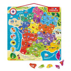 Janod - J05480 - Puzzle france magnetique (376156)