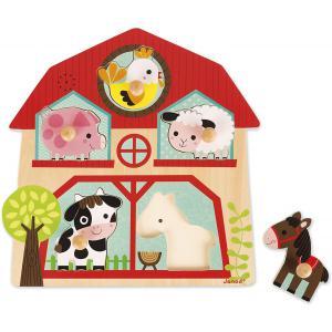 Janod - J07079 - Puzzle musical - les copains de la ferme (376238)