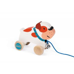 Janod - J08216 - Bulldog à promener- my dog (376466)