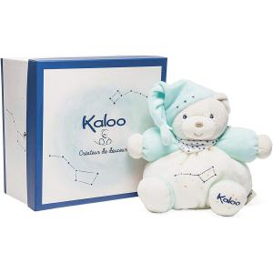 Kaloo - K960294 - Peluche Patapouf Phosphorescente Ourson Turquoise 18 cm (377124)