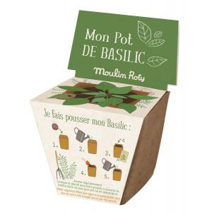 Moulin Roty - 712381 - Pot de graines basilic (377340)