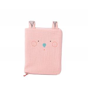 Moulin Roty - 665083 - Protège carnet de santé souris rose Les Jolis trop beaux (377600)