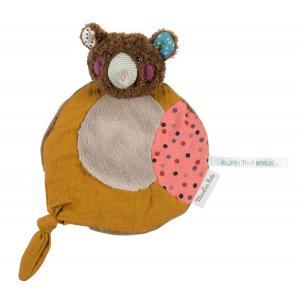 Moulin Roty - 665014 - Doudou ours brun Les Jolis trop beaux (377630)