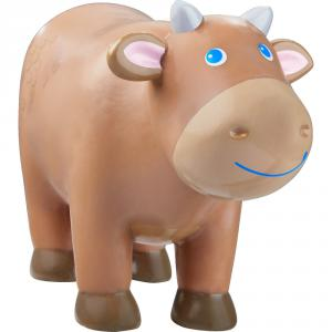 Haba - 303827 - Little Friends – Vache, marron (378014)