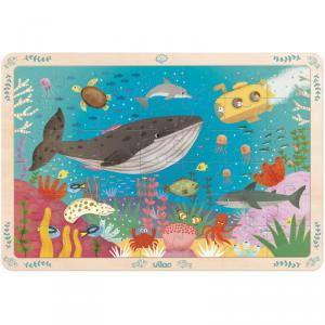 Vilac - 2595 - Grand puzzle 42 pces les fonds marins (378390)