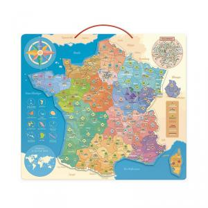 Vilac - 2589 - Carte de France éducative - à partir de 6+ (378392)