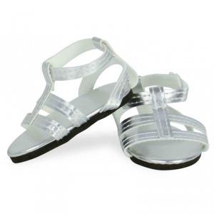 Petitcollin - 603914 - Sandales argentées taille 39 à 48 cm (378496)