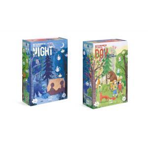 Londji - PZ367U - Puzzle 45 pièces - Night&Day (378656)