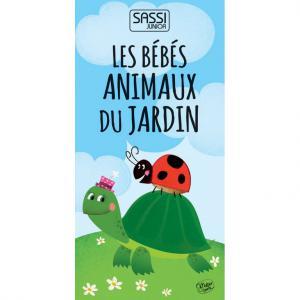 Sassi - 7616 - Cubes empilables - Les bébés animaux du jardin (378708)