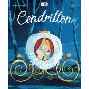 Cendrillon - 606695 - Livre avec découpes laser - CENDRILLON (378778)