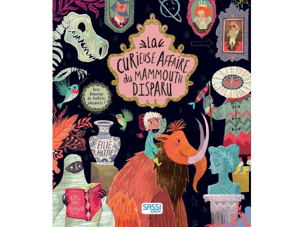 Livre la curieuse affaire du mammouth disparu - editions sassi
