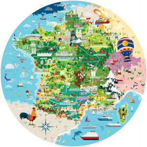Sassi - 2857 - Puzzle Voyage, découvre, explore - La France - Puzzle 210p (378814)