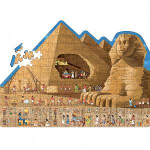 Sassi - 6053 - Puzzle Voyage, découvre, explore - L'Egypte Ancienne - NOUVELLE EDITION (378816)