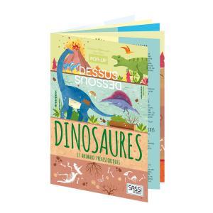 Sassi - 6978 - Pop-up Dessus-Dessous - Dinosaures (378824)