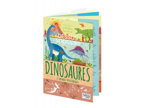 Pop-up dessus-dessous - dinosaures