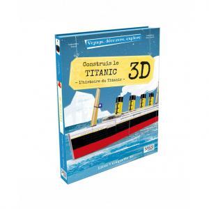 Sassi - 5711 - Puzzle 3D Voyage, découvre, explore - Le Titanic (378846)