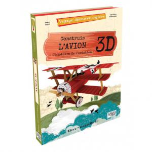 Sassi - 604394 - Puzzle 3D Voyage, découvre, explore - L'Avion (378848)