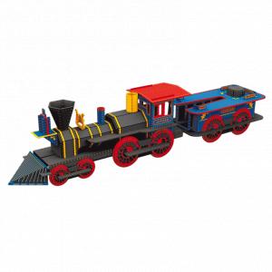 Sassi - 4363 - Puzzle 3D Voyage, découvre, explore - La Locomotive (378850)