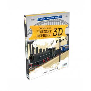 Sassi - 607654 - Puzzle 3D Voyage, découvre, explore - Construis l'orient express (378862)