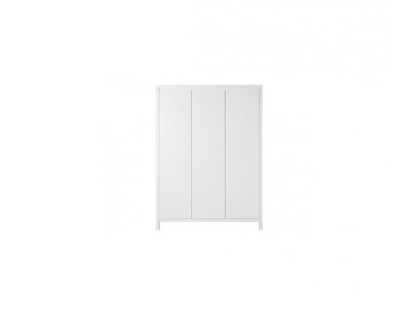 Armoire 3 portes corsica blanc