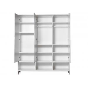 Bopita - 564611 - Armoire 3 portes MIX & MATCH blanc (excl. 3 tiroirs 3546xx) (379236)