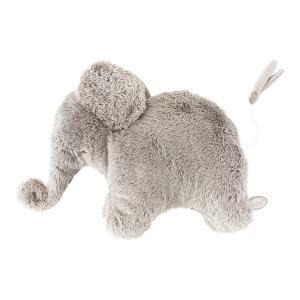 Dimpel - 885469 - Oscar éléphant musical 42 cm - beige-gris (379570)