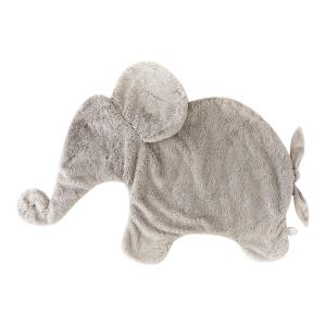 Dimpel - 885456 - Oscar éléphant couverture calin 82 cm - beige-gris (379580)
