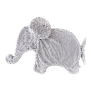 Dimpel - 885157 - Oscar éléphant couverture calin 82 cm - gris-clair (379586)