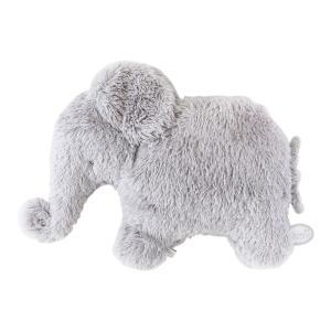 Dimpel - 885118 - Oscar éléphant doudou plat 32 cm - gris-clair (379616)
