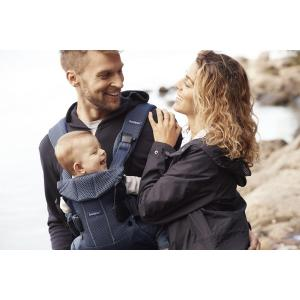 Babybjorn - 098008 - Porte-bébé One Air Bleu marine, Mesh (379666)