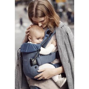 Babybjorn - 098051 - Porte-bébé One Bleu denim-Bleu nuit, Cotton Mix (379676)