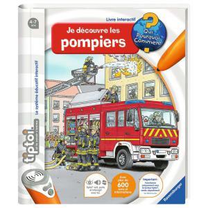 Ravensburger - 00694 - Jeux éducatifs Tiptoi - Je découvre les pompiers (379786)