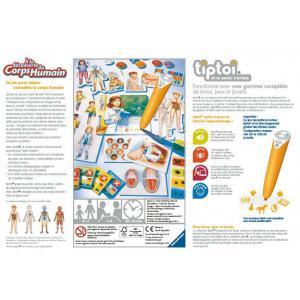 Ravensburger - 00834 - Jeux éducatifs Tiptoi - A la découverte du corps humain (379790)