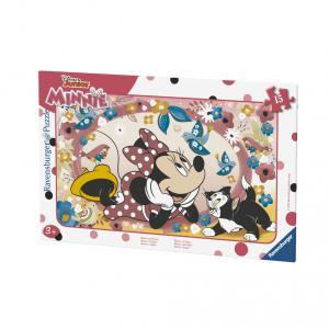 Minnie - 06158 - Puzzle cadres 15 pièces - Minnie et Figaro (379814)