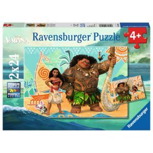 Disney - 09156 - Puzzle 2 x 24 pièces - Vaiana et ses amis (379842)