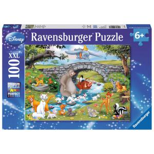 Ravensburger - 10947 - Puzzle 100 pièces XXL - La famille d'Animal Friends / Disney (379870)