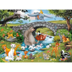 Disney - 10947 - Puzzle 100 pièces XXL - La famille d'Animal Friends / Disney (379870)