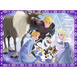 Ravensburger - 10730 - Puzzle 100 pièces XXL - La famille est une tradition / Les aventures d'Olaf (379874)