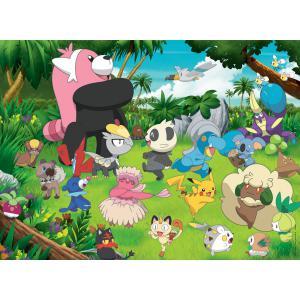 Pokemon - 13245 - Puzzle 300 pièces XXL - Pokémon sauvages (379894)