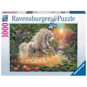 Ravensburger - 19793 - Puzzle 1000 pièces - Mystique licorne (379942)